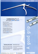 Download Product Sheet Laminectomy Punch